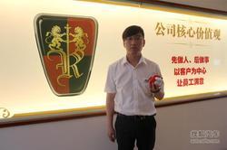 搜狐专访:四联通合荣威4S店销售经理米楠