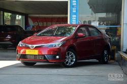 [西安]丰田卡罗拉现车在售综合优惠0.8万