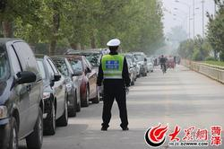 全城交通总动员 600名交警为牡丹节护航!