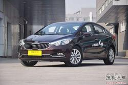 [绵阳]起亚K3现车紧张需预订 订金5000元