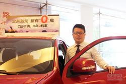 车展专访:重庆万博三菱4S店总经理叶铭约