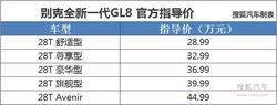 全新别克GL8上市 奥德赛/艾力绅等3.8万!