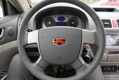 帝豪EC71.8L 手动 尊贵型方向盘图片