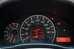 日产玛驰1.5L 自动 易智版仪表板图片
