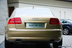 奥迪A8L6.0L quattro 至尊旗舰型正后图片