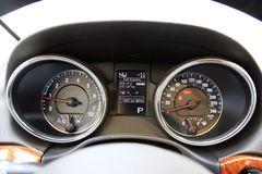 Jeep吉普大切诺基3.6L 豪华版仪表板图片
