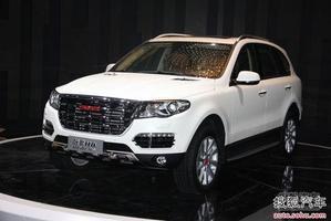 哈弗H8广州车展上市 售20.18--23.68万元