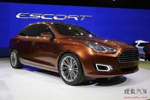 福特全新概念车ESCORT首发 预计明年量产