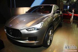 全新玛莎拉蒂Kubang SUV 2013年底将量产