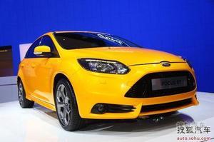 福克斯ST正式亮相2012北京车展 配备2.0T