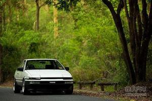 完美体现 TOYOTA AE86 Trueno Coupe鉴赏