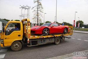 2013广州车展探营:法拉利最新超跑将亮相