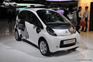 雪铁龙量产电动车C-ZERO 将亮相北京车展