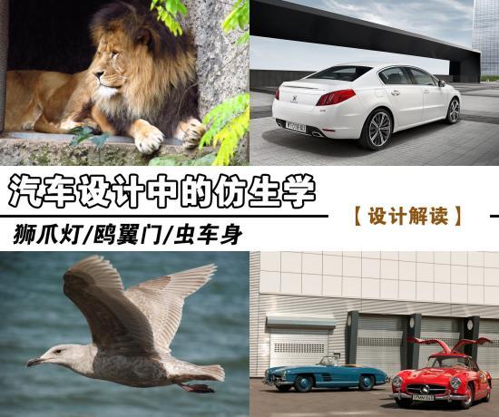 动物遭躺枪 鉴赏汽车中的仿生学设计理念
