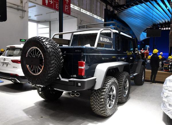 2018北京车展:BJ80 6X6车型正式亮相