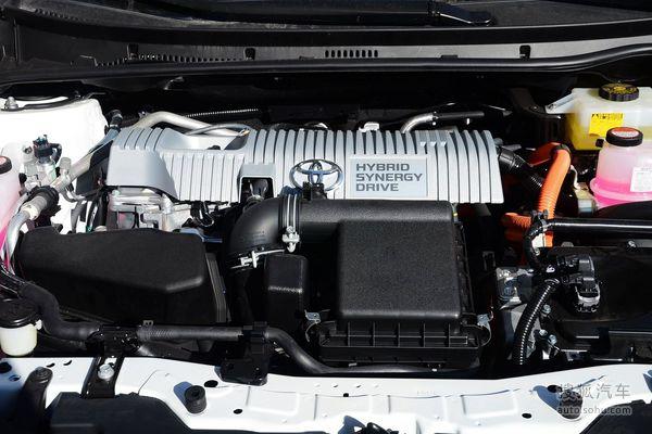 丰田 雷凌双擎 实拍 底盘/动力 图片