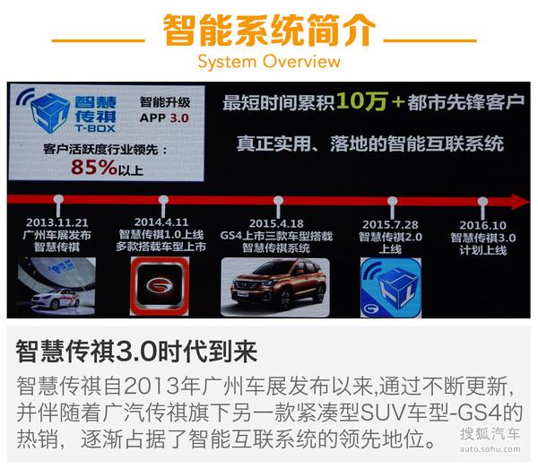 广汽传祺GS8智能互联系统体验