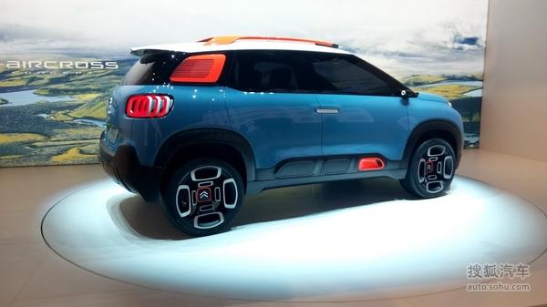 雪铁龙C-Aircross概念车发布