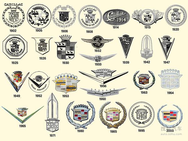 总结:百余年来,凯迪拉克的Logo的更新历程犹如一部品牌历史,每一次的更新,都在一定程度上反映了当时凯迪拉克所追求的设计方向和品牌诉求。唯一不变的是对高品质、高标准的孜孜追求。这是一个汽车企业能够创造百余年历史的核心理念。