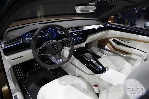 大众C Coupe GTE 上海车展实拍