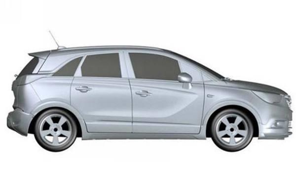 别克全新紧凑级SUV专利图