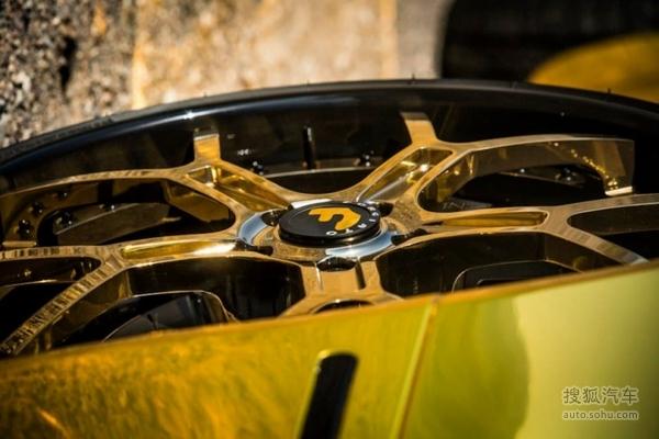 轮毂.   定制的黄金forgiato   阿斯顿·马丁   对于那些想高清图片