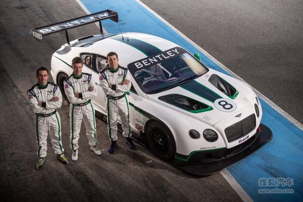 M-Sport宾利车队 公布2014赛季明星车手!