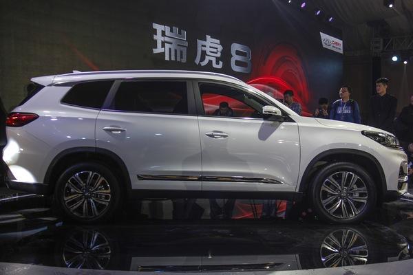 2018北京车展:奇瑞瑞虎8上市售9.88万起