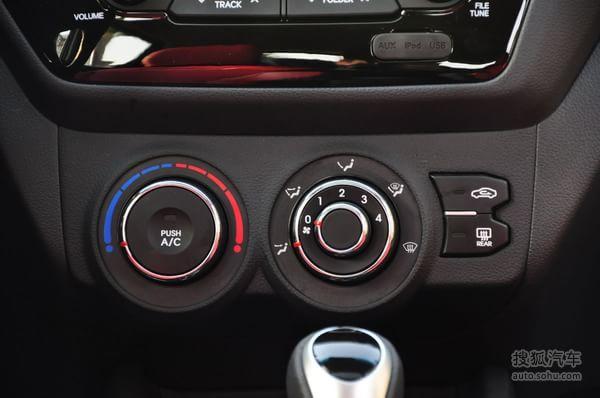 起亚k2两厢的空调控制面板