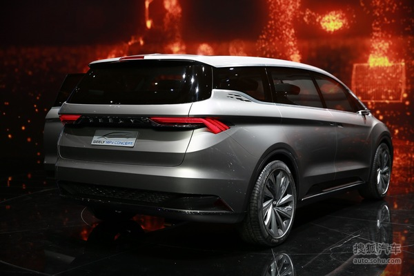 吉利MPV概念车上海车展实拍