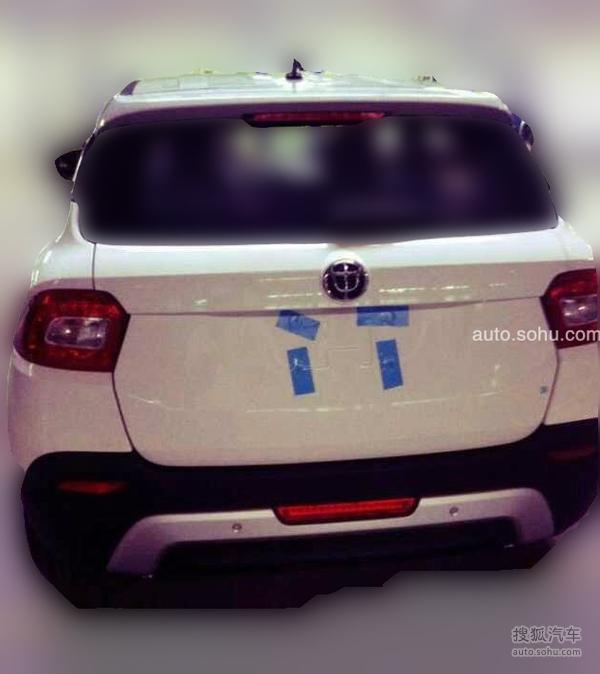 曝华晨中华V3谍照 外观运动 定位小型SUV高清图片