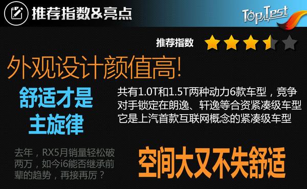 荣威 i6 实拍 图解 图片