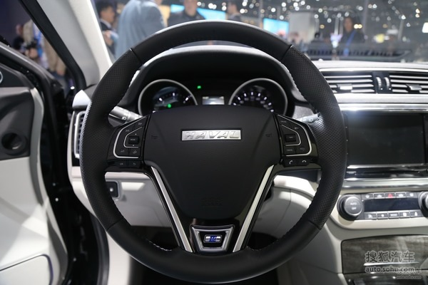 上海车展:哈弗H6 Coupe 两种风格可选择