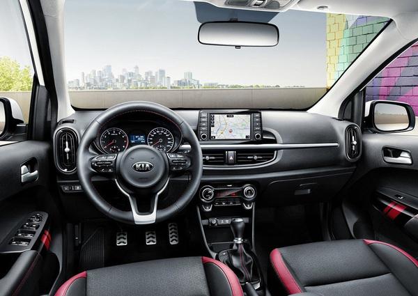 起亚新Picanto GT line官图发布 3月亮相