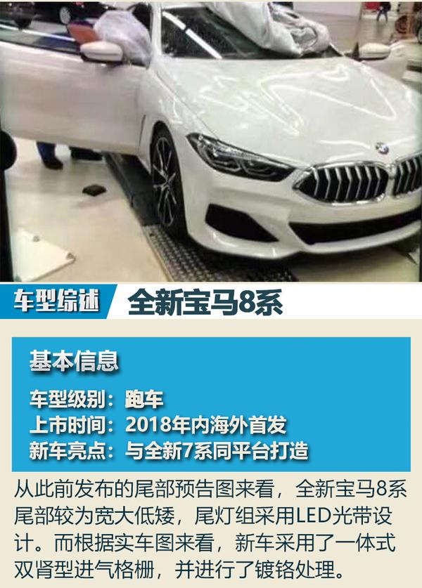 全新宝马X3领衔 宝马2018年新车展望