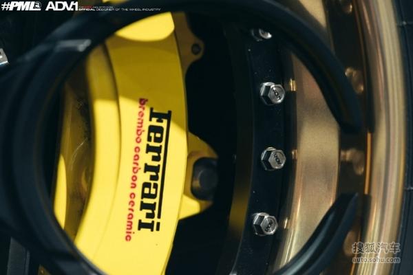 唯美战靴 LB宽体法拉利458改装ADV.1轮毂