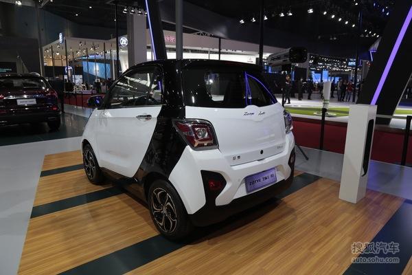 众泰芝麻E30 上海车展实拍