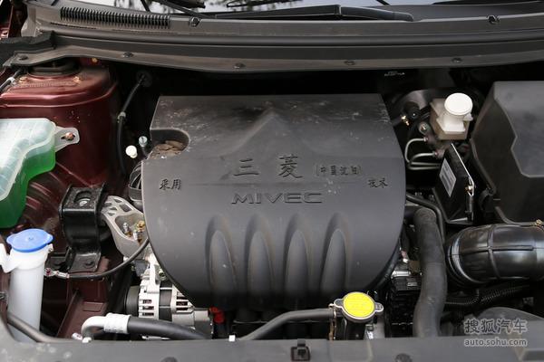东风风行 景逸S50 实拍 底盘/动力 图片