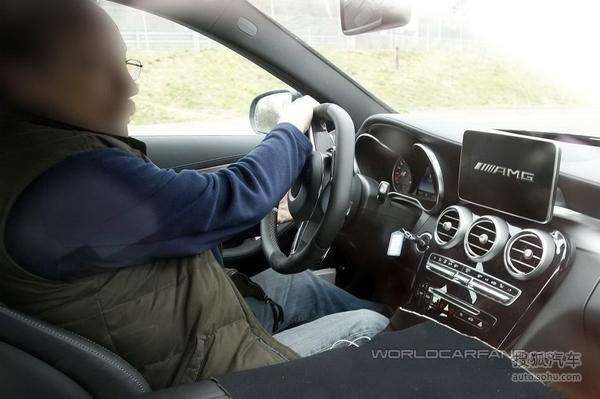 全新奔驰C63 AMG谍照