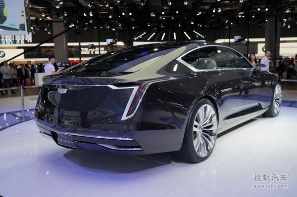 凯迪拉克 EScala概念车 上海车展实拍