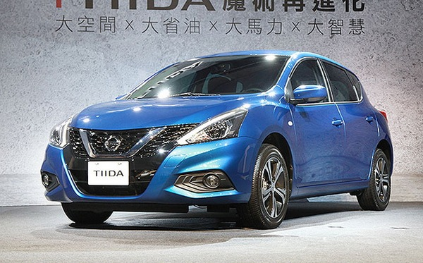 裕隆日产TIIDA实车首发 外观造型重新设计