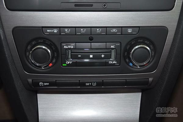 斯柯达明锐的空调控制面板