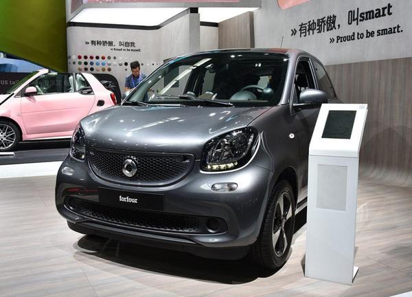 2018北京车展:smart forfour新车型