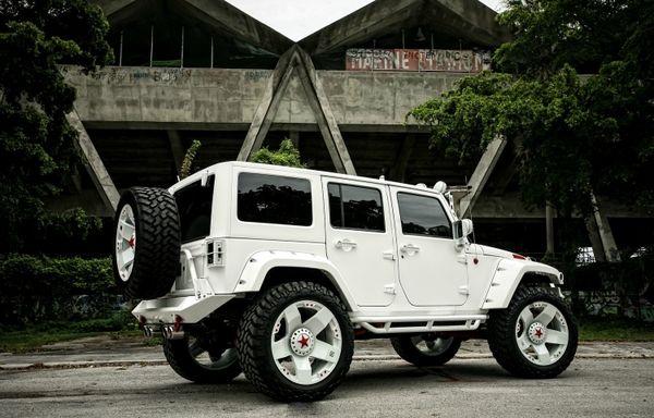 新cc改装_越野界的艺术品 Jeep牧马人改装悍马风格-搜狐汽车