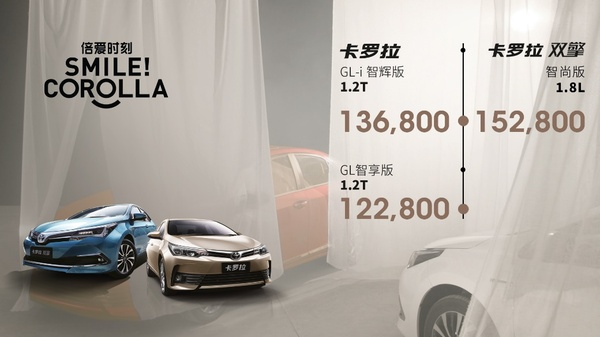 2018款一汽丰田卡罗拉上市