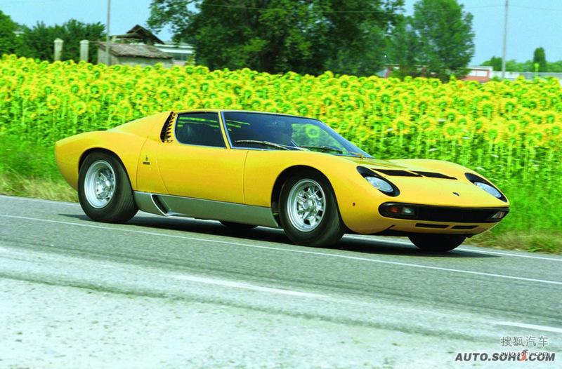 兰博基尼兰博基尼Miura1971款兰博基尼Miura SV