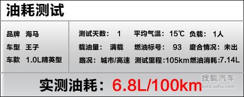海马海马郑州王子海马王子精英型深度测试 高清图片