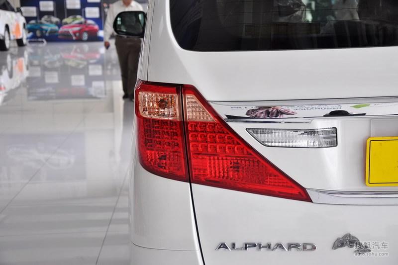 丰田进口丰田埃尔法2013款丰田埃尔法3.5l豪华版高清图片