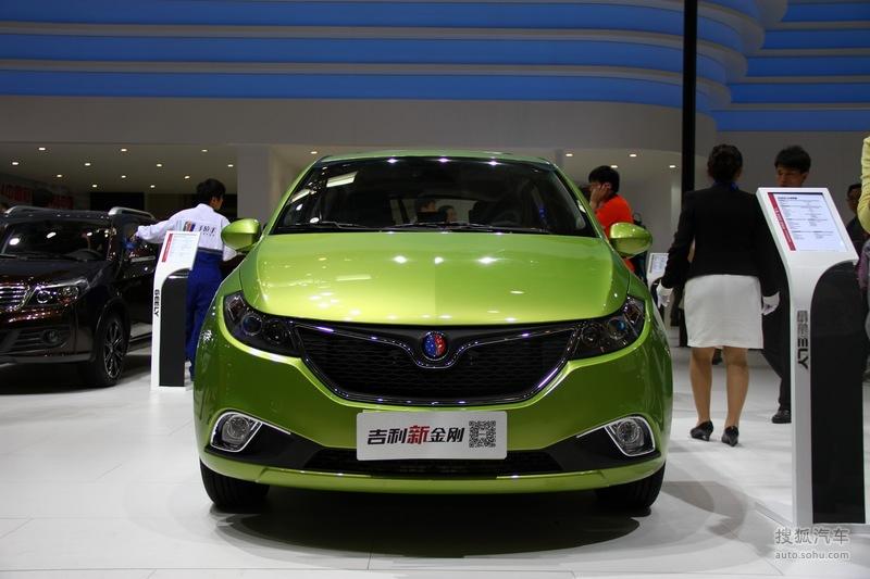 吉利汽车 金刚   吉利新金刚北京车展实拍 返回图片列表