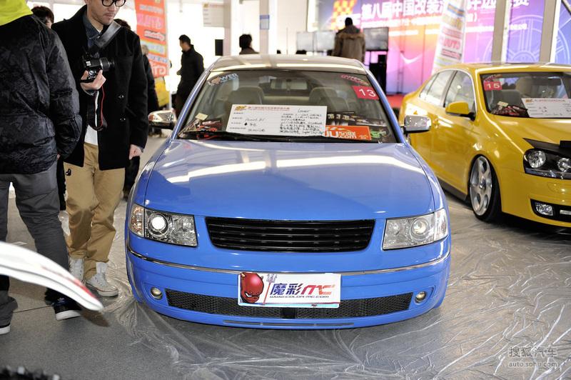 大众上海大众帕萨特大众帕萨特B5 雅森改装车展实拍